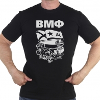 Строгая мужская футболка «Военно-морской флот»