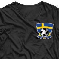 Сублимация на футболку Швеция