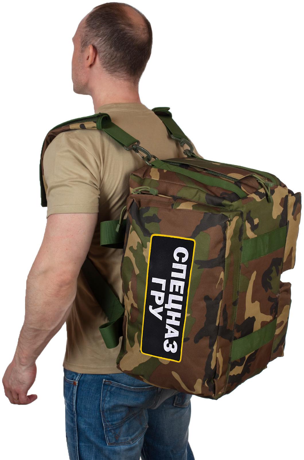 Камуфляжные сумки Спецназа ГРУ в интернет магазине Военпро