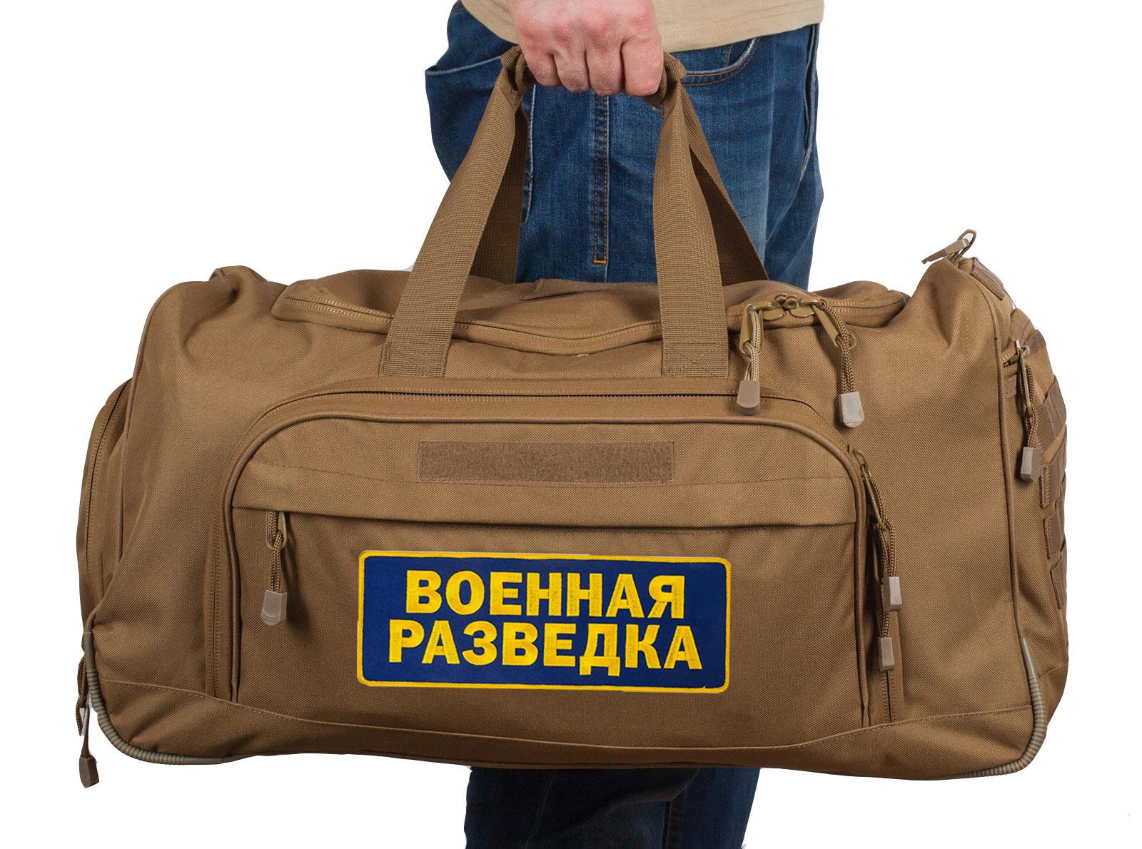 Тактическая сумка разведчика в камуфляжном паттерне хаки песок