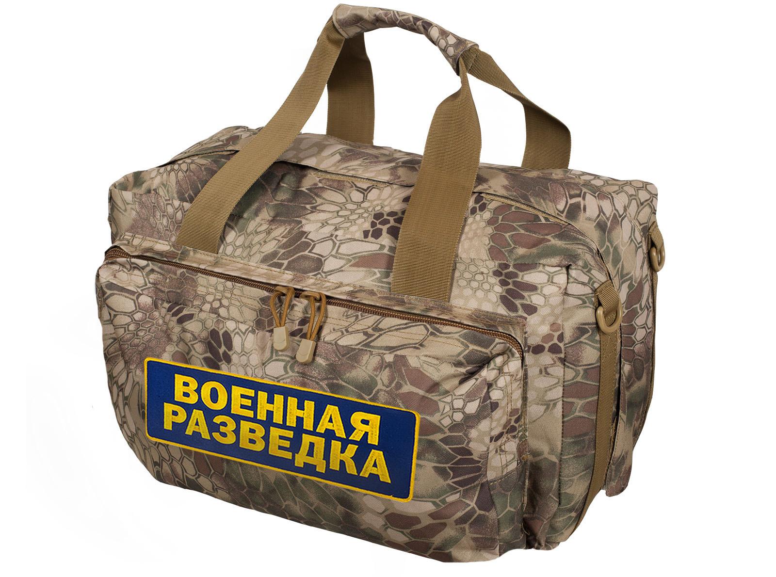 Купить в Москве камуфляжную сумку Военной разведки