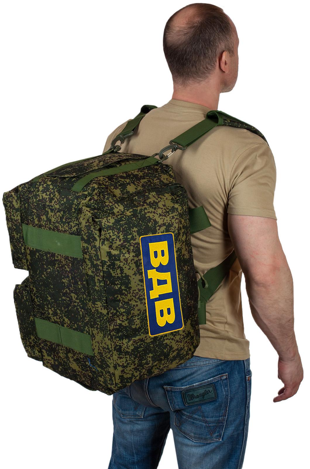 Армейские сумки и рюкзаки ВДВ – хороший выбор и такие же цены