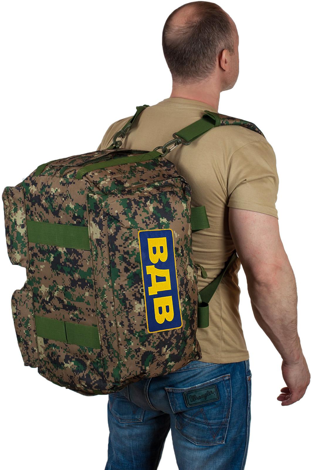 Недорогие армейские сумки с нашивкой ВДВ