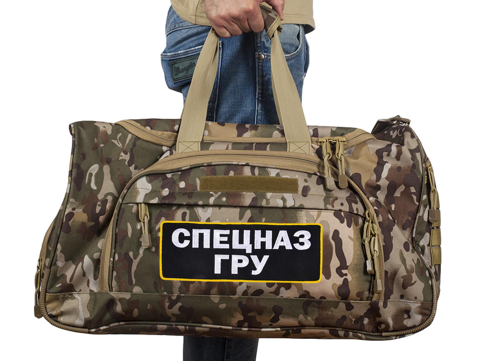Большая тактическая мужская сумка Спецназ ГРУ