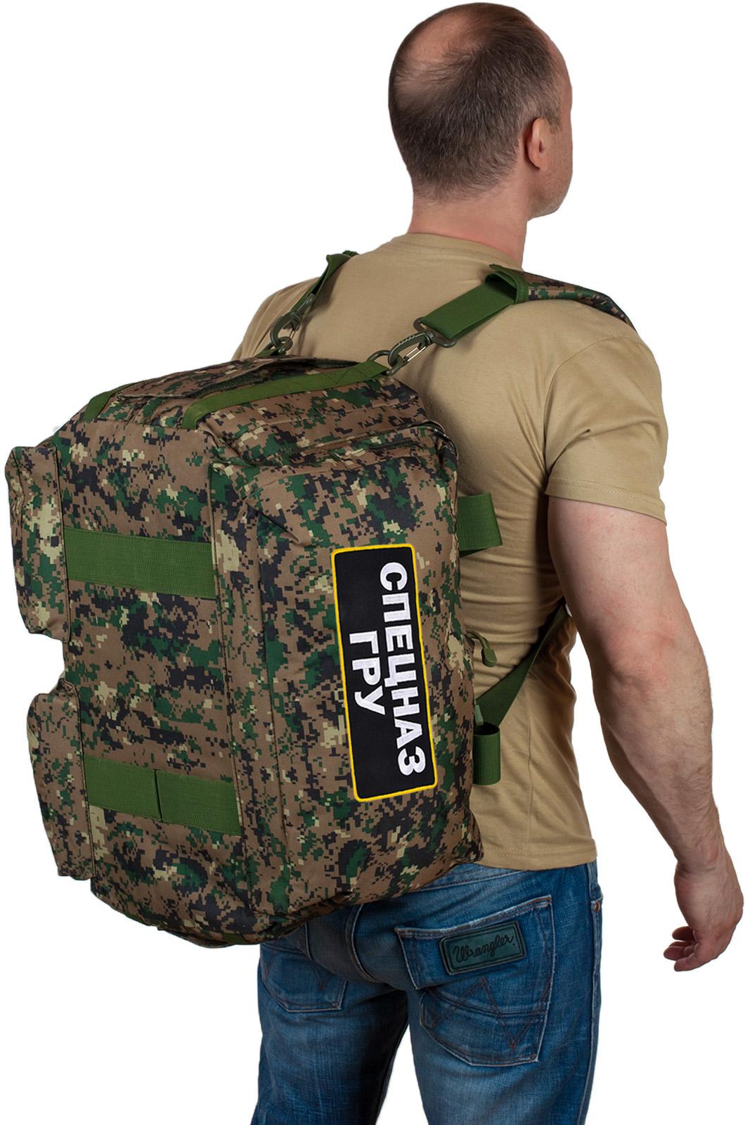 Недорогие армейские сумки Спецназ ГРУ