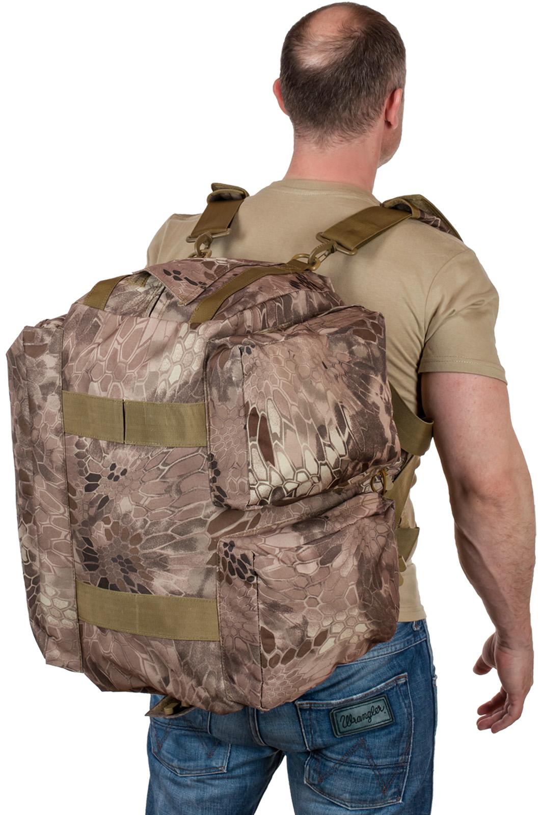 Купить в военторге снаряжение ГРУ: сумки и рюкзаки в камуфляжном дизайне