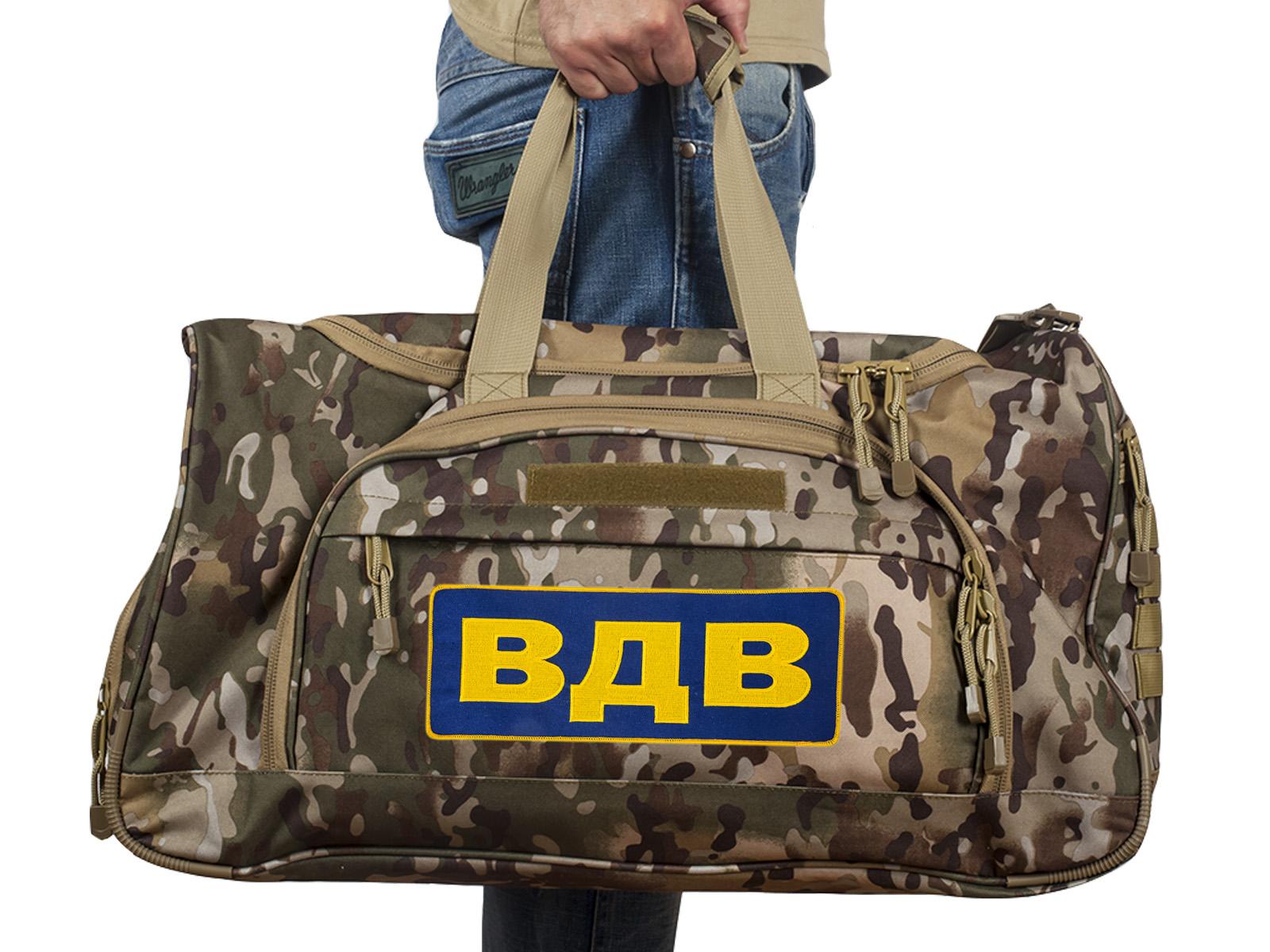 Дорожная сумка с нашивкой ВДВ – ограниченная серия
