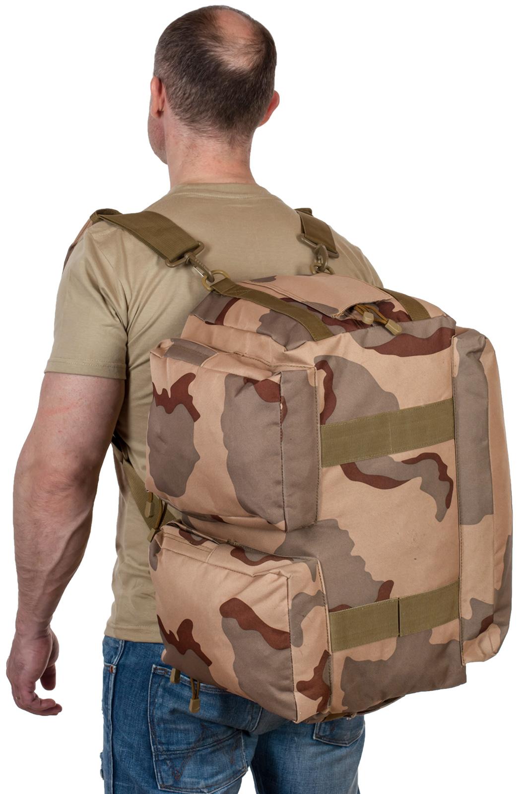Тактическая мужская сумка военного разведчика