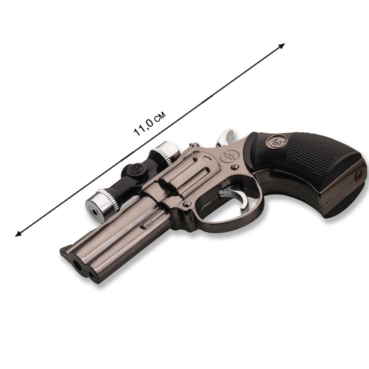 Сувенирный револьвер зажигалка с доставкой