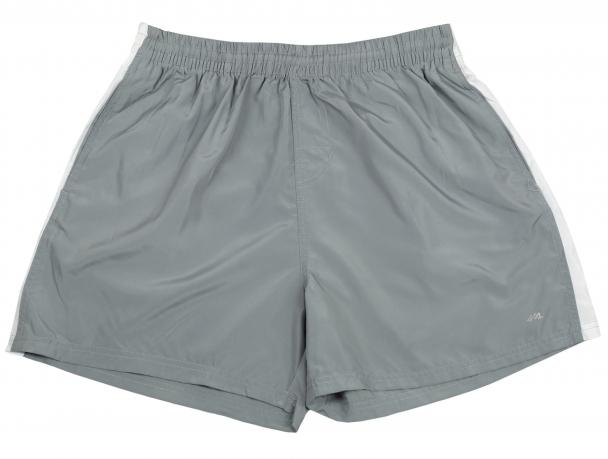 Светло-серые мужские шорты Llace