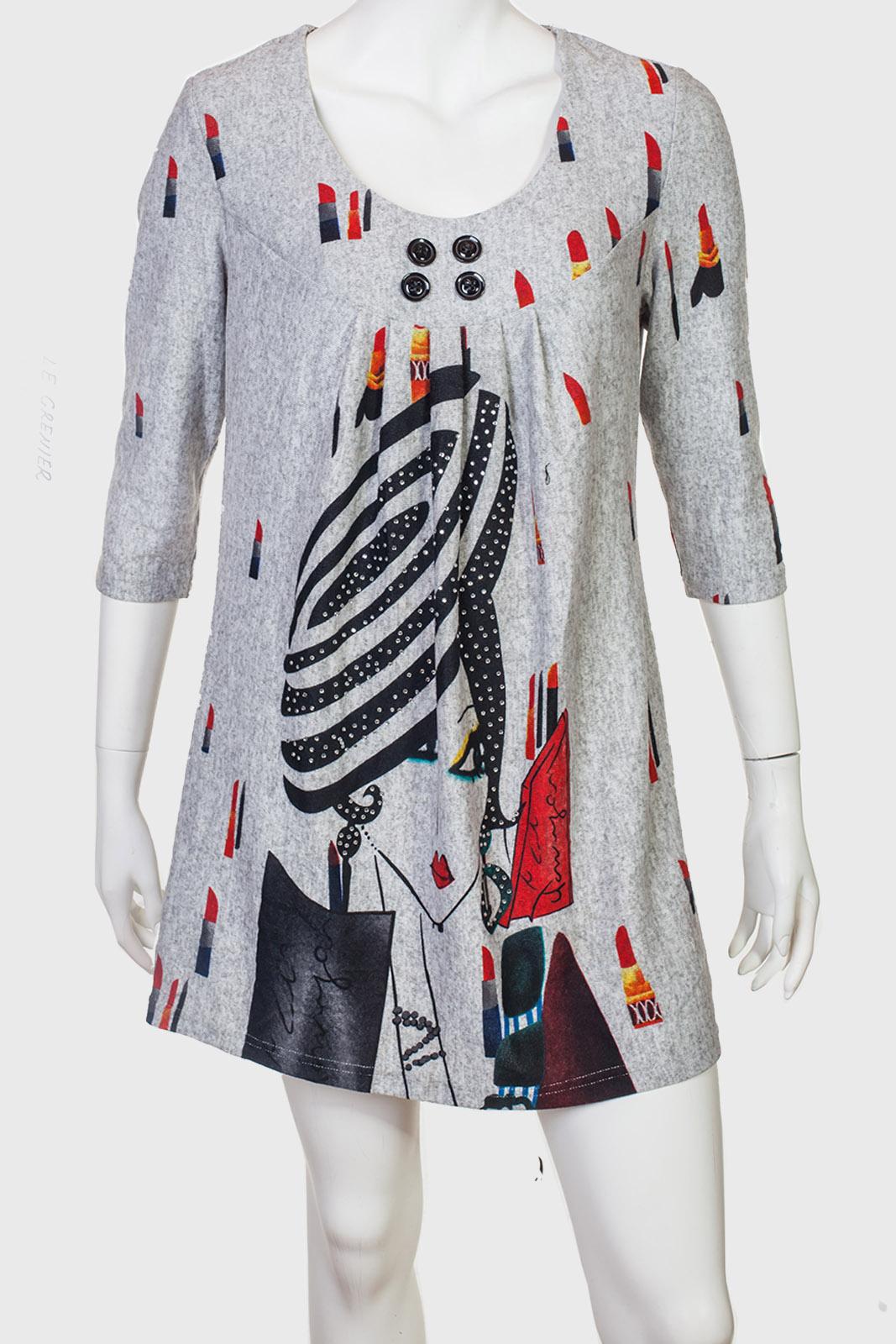Свободное платье-туника Le Grenier.