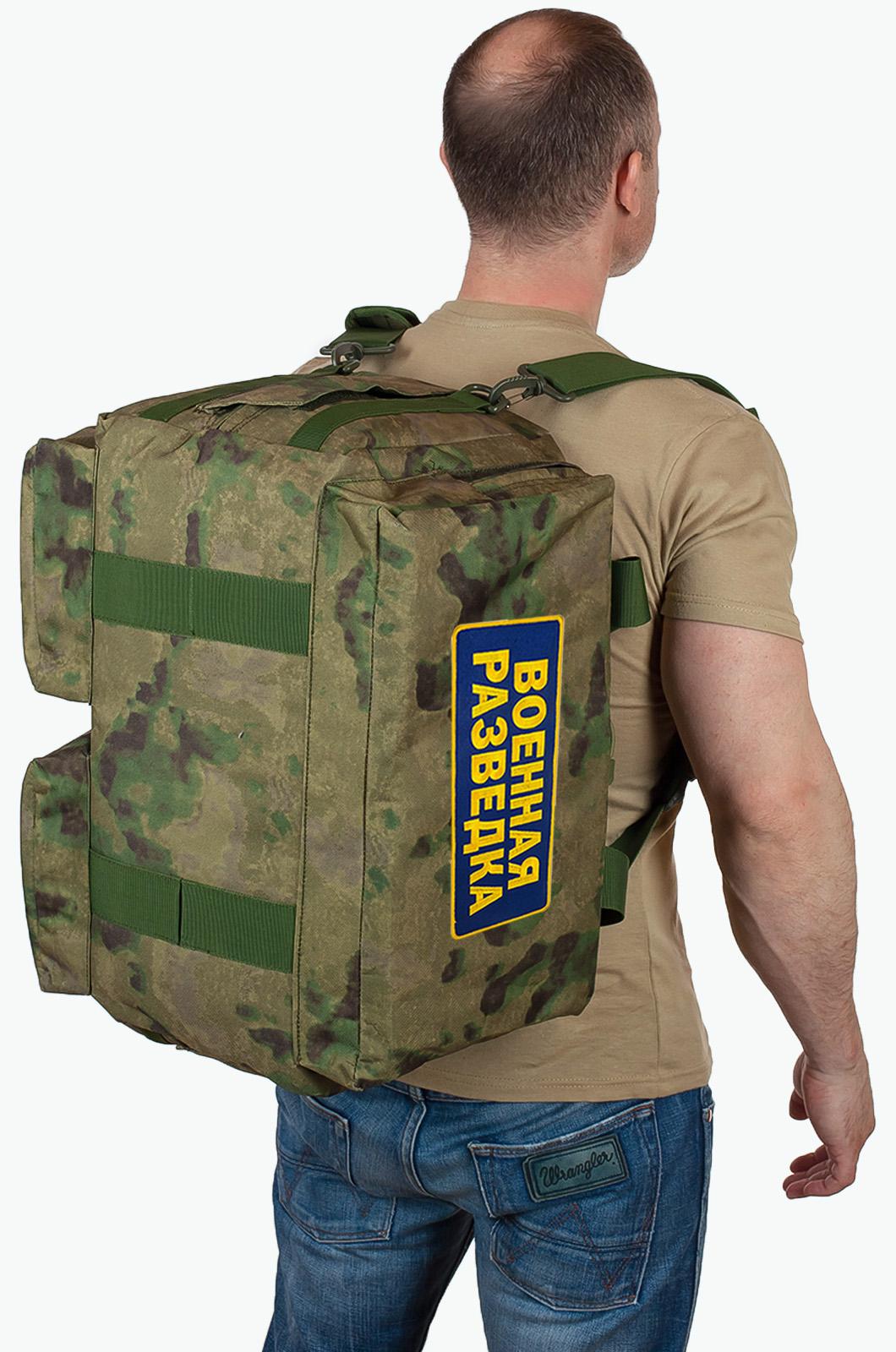 Недорогая тактическая сумка рюкзак разведчика