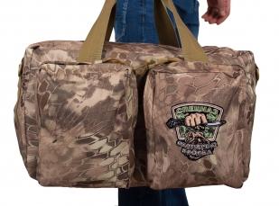 Тактическая дорожная сумка с нашивкой Охотничьего спецназа купить онлайн
