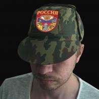 Тактическая кепка-камуфляж с шевроном Россия