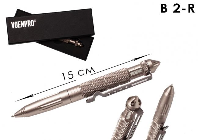 Тактическая ручка LAIX В2 металлик