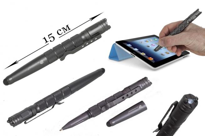 Тактическая ручка с стилусом  HX OUTDOOR