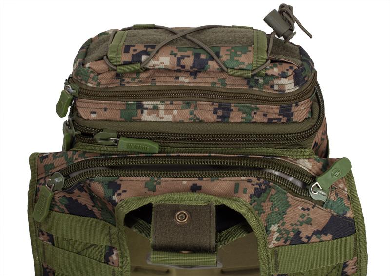 Тактическая сумка через плечо камуфляж Marpat