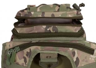 Тактическая сумка через плечо камуфляж Multicam