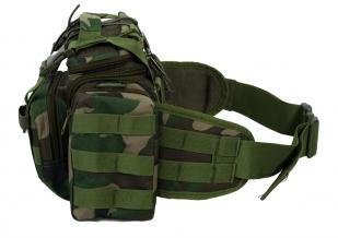 Поясная сумка Maxpedition камуфляж Woodland
