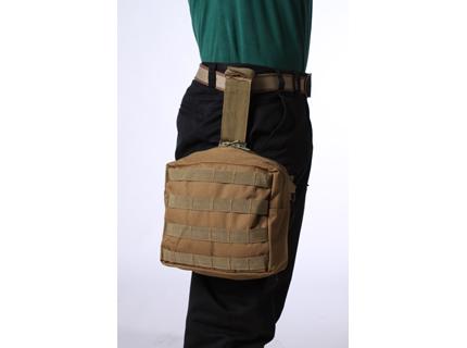 Тактическая сумка на бедро хаки-песок