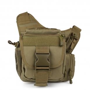 Тактическая сумка на плечо хаки