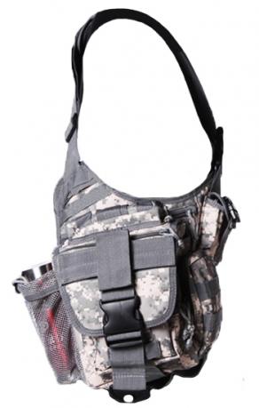 Тактическая сумка на плечо камуфляж ACU