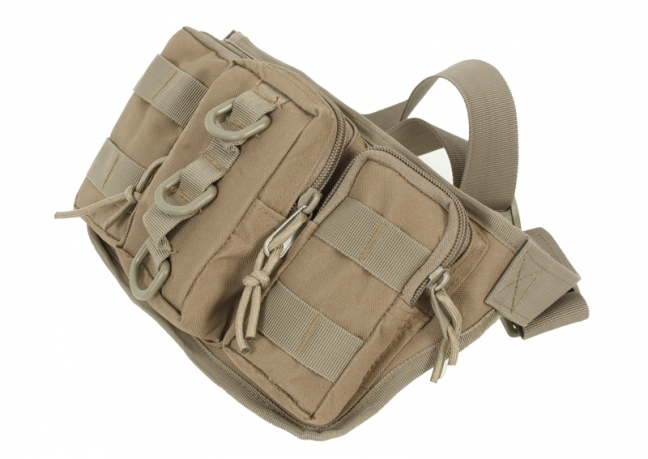 Тактическая сумка на пояс хаки-песок