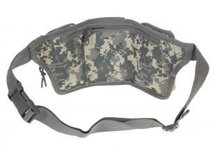 Тактическая сумка на пояс камуфляж ACU