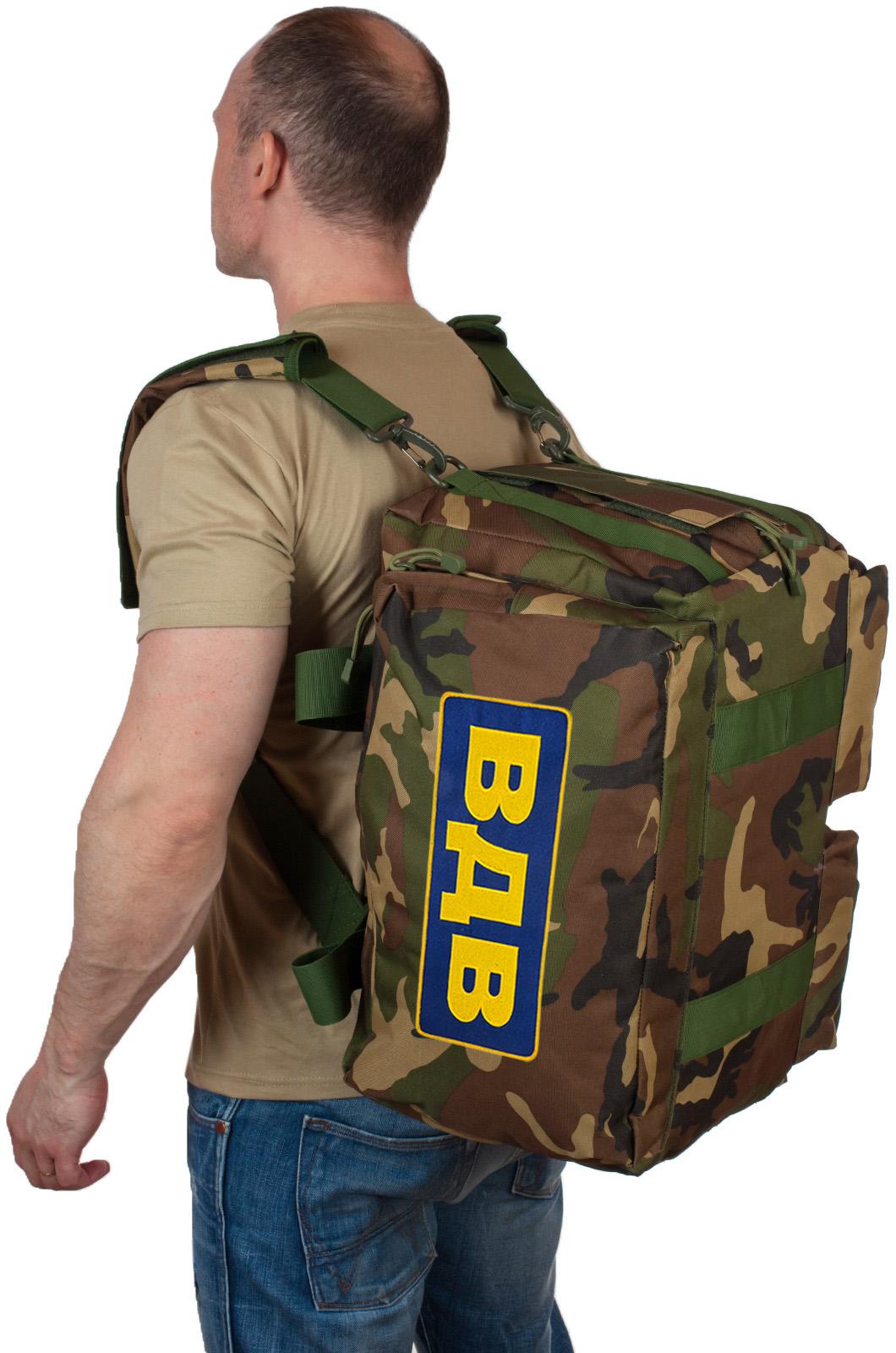 Тактическая сумка рюкзак с нашивкой ВДВ