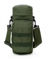 Тактическая сумка с широким ремнём через плечо для термоса
