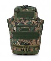 Тактическая сумка с широким ремнём через плечо под камеру