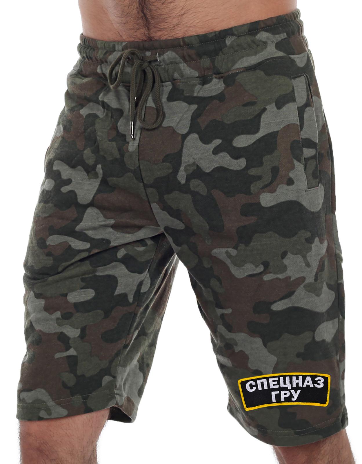 Недорогие форменные шорты с эмблемой Спецназа ГРУ