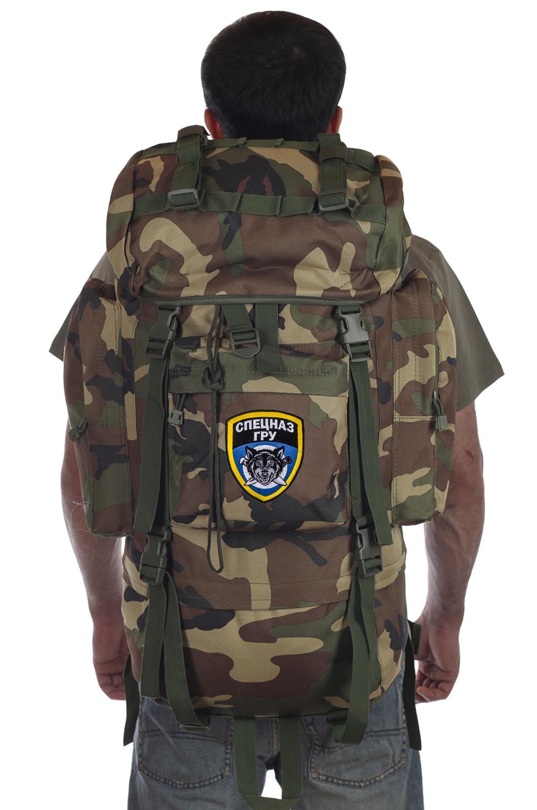 Купить качественный тактический рюкзак с клапаном Спецназ ГРУ