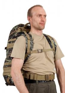 Тактический рюкзак TriZip MOLLE камуфляж Лес
