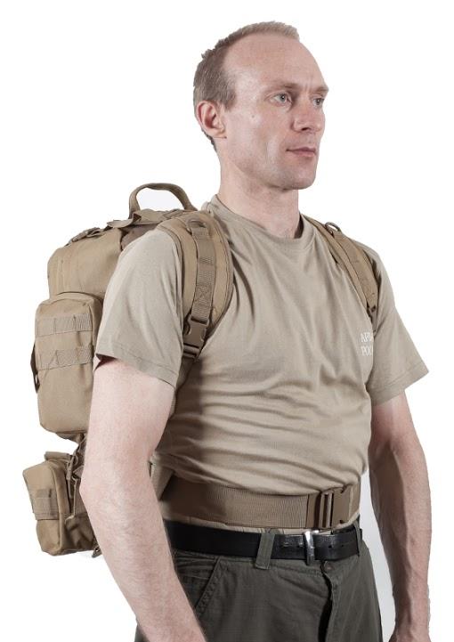 Тактический рюкзак US Assault хаки-песок