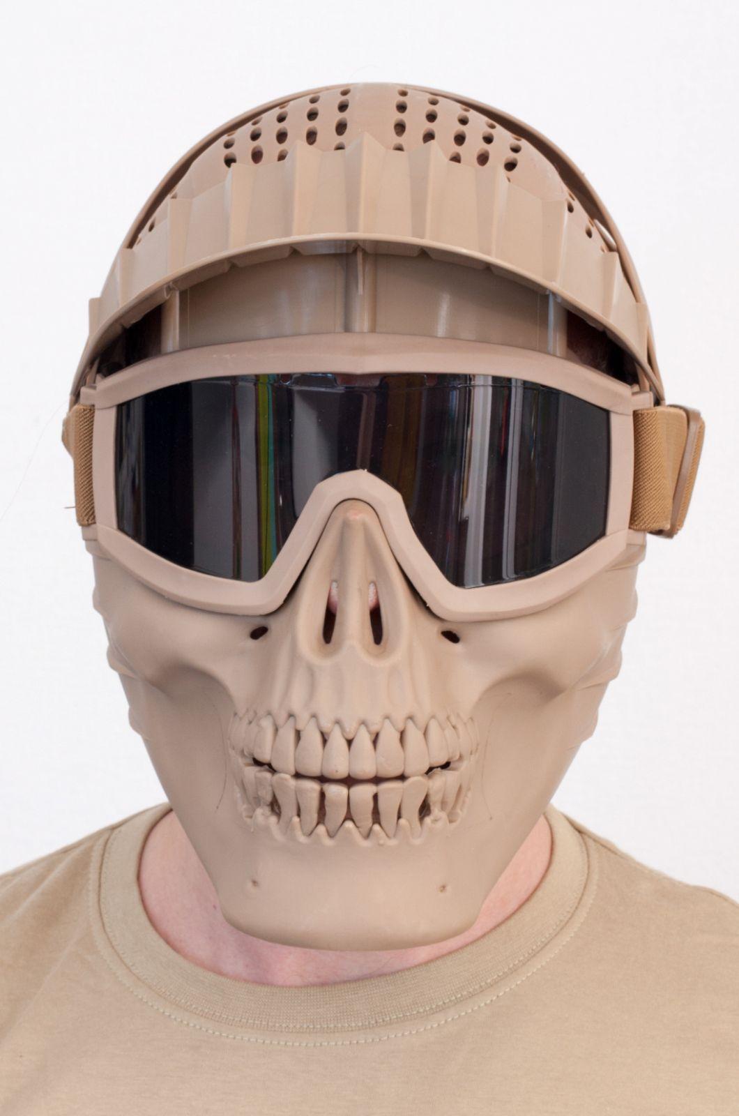 Тактический шлем для страйкбола