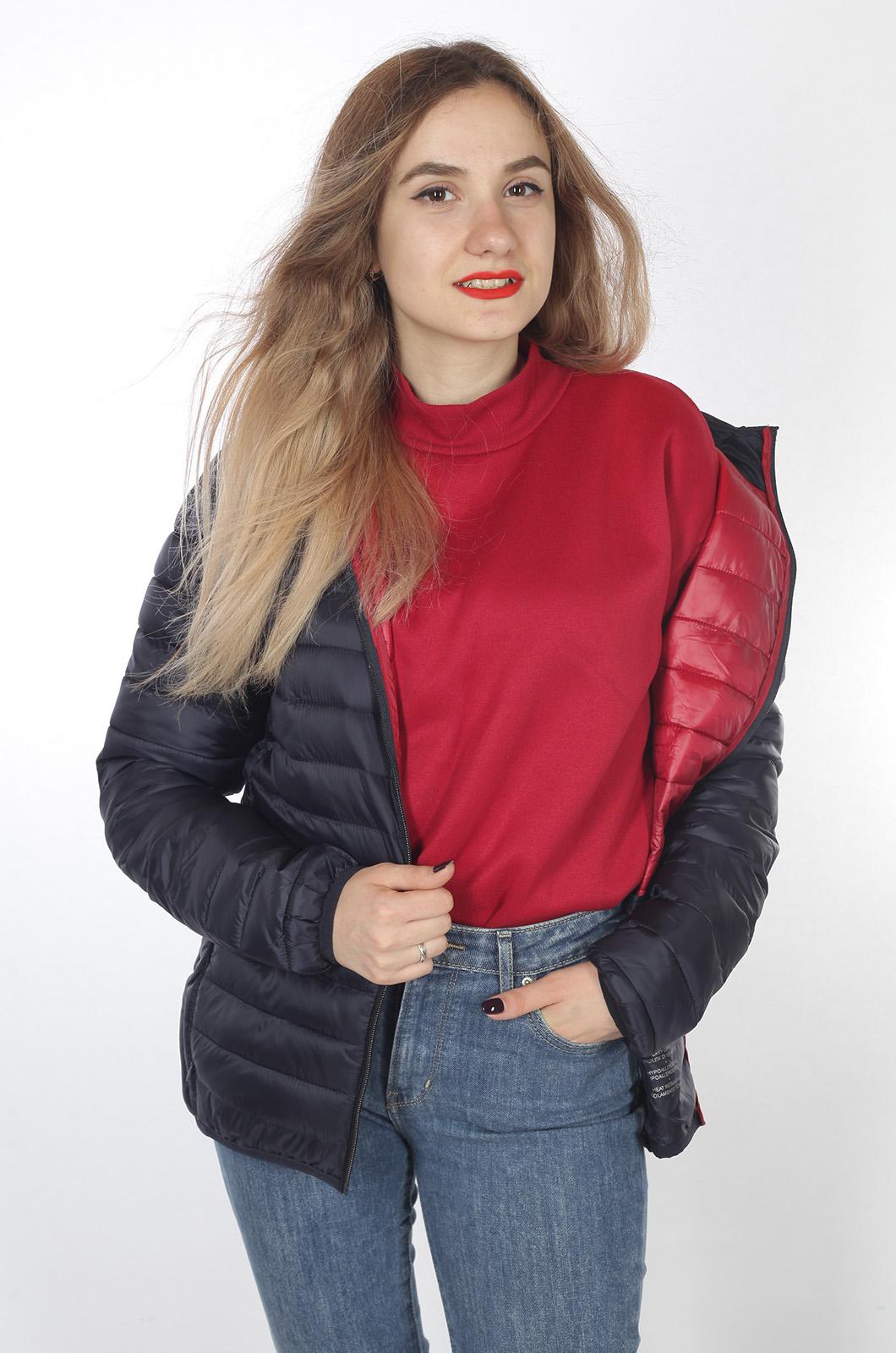 Темная демисезонная куртка от бренда J. HART & BROS - заказать оптом