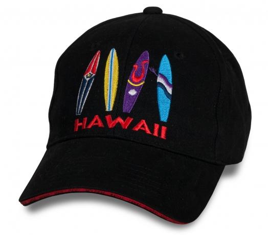 Темная летняя бейсболка Hawaii
