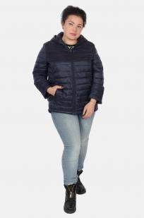 Темно-синяя женская куртка Rosa Thea (Италия) для прохладного межсезонья