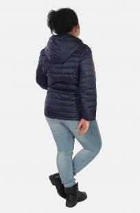 Темно-синяя женская куртка Rosa Thea (Италия) с удобной доставкой