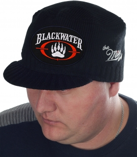 Тёплая мужская кепка с эмблемой «тёмных вод» – Blackwater. Фирменное качество от Miller Way, низкая цена и быстрая доставка от интернет магазина Военпро. Ограниченный тираж