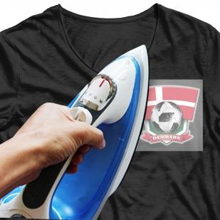 Термотрансфер на футболку Дания