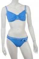 ТОЛЬКО У НАС - САМЫЕ ТРЕНДОВЫЕ ПЛЯЖНЫЕ МОДЕЛИ! Модный голубой купальник Olympia для женщин с идеальным чувством стиля!
