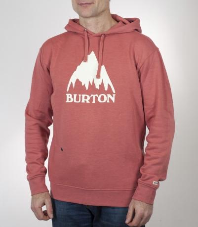 Толстовка Burton модного кораллового цвета. Хит сезона, налетай!