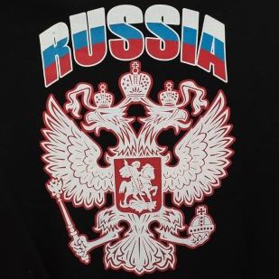 Толстовка «Россия» чёрная