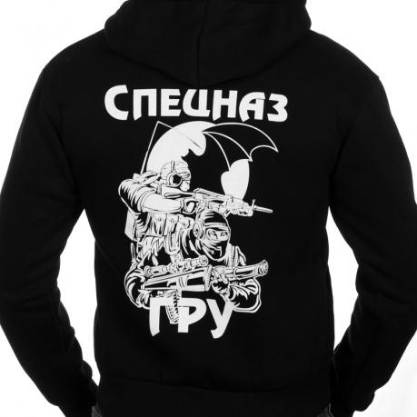 Толстовка Спецназ ГРУ  чёрная