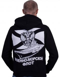 """Толстовка """"За ВМФ"""" - вид сзади"""