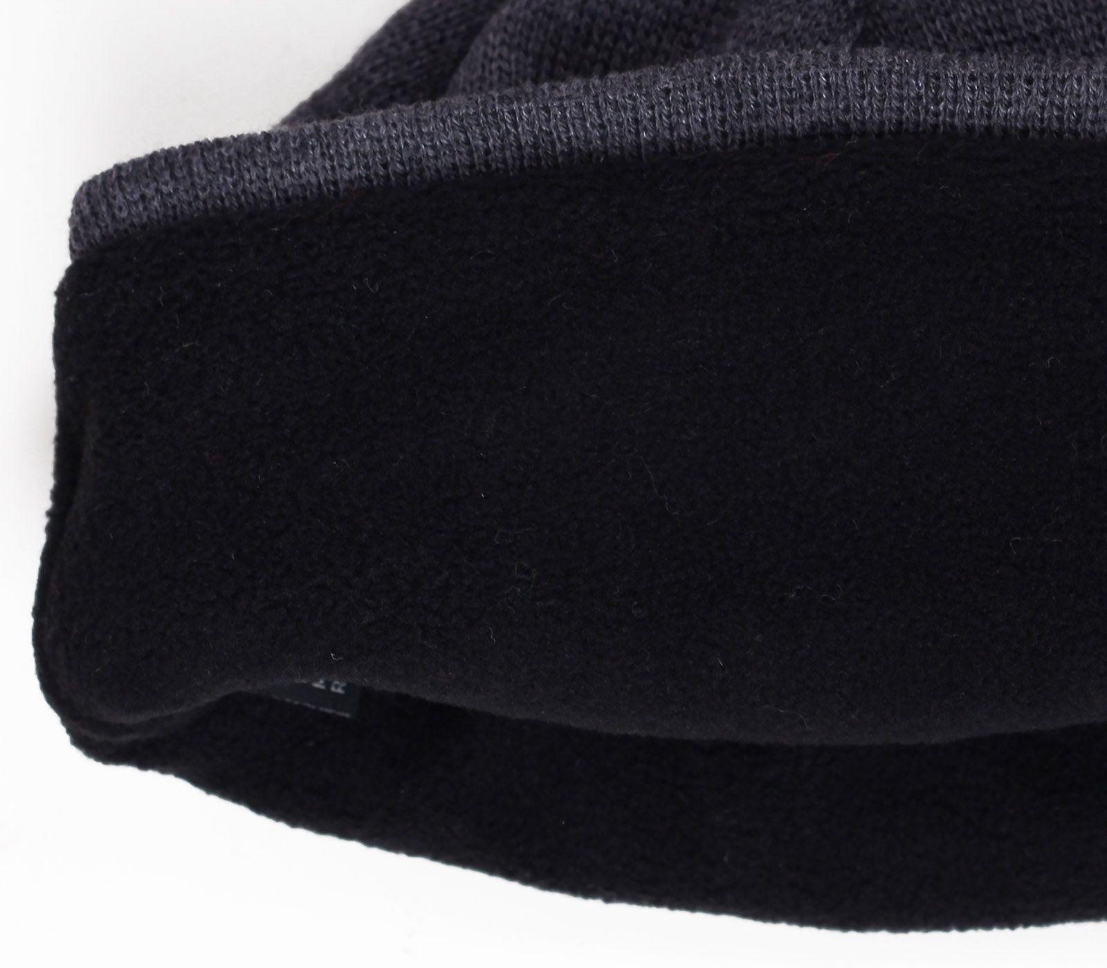 Мужская шапка на флисе для зимних холодов