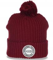 Топовая неподражаемая женская шапка спортивного фасона H.S.Cº. последняя модная тенденция
