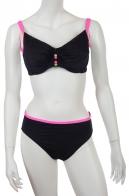 ТРЕНД ПЛЯЖНОЙ МОДЫ! Черный раздельный купальник Olympia - отменное качество и стильный дизайн!